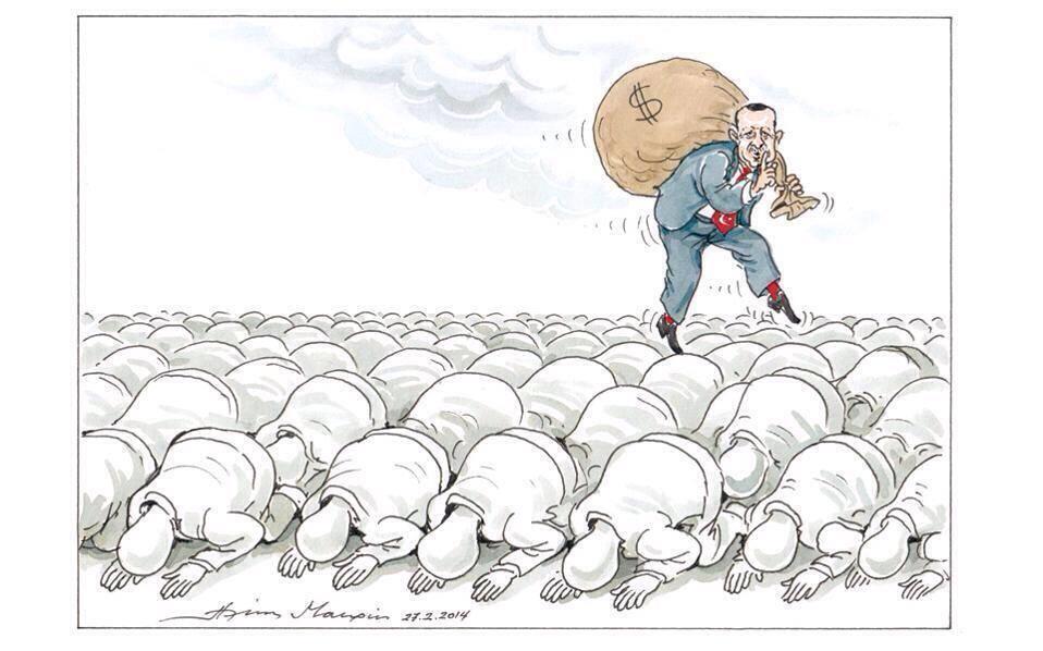 yunanistandan bir karikatür